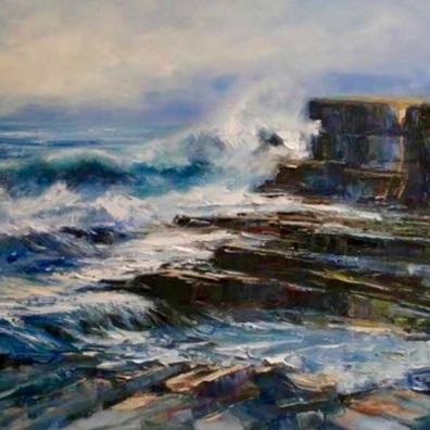 Cliff edge, Muckross