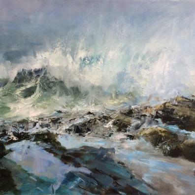 Tidal Flow, 40 x 80 cm / sold