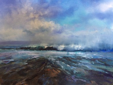 Sea Swell, 45 x 60 cm, SOLD
