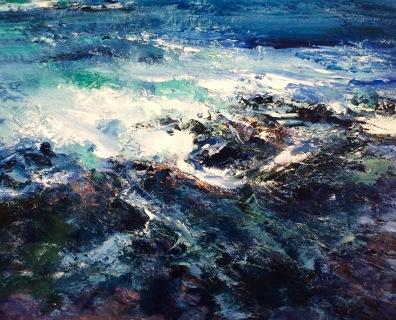Wild Shore, 50 x 60 cm / sold