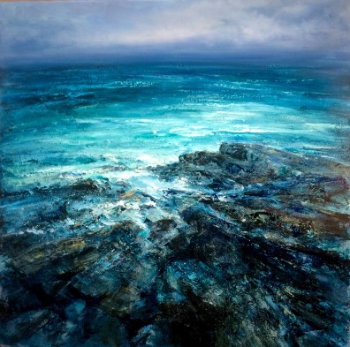 Infinite Ocean, 60 x 90 cm / sold