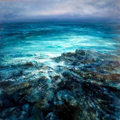 Infinite Ocean, 60 x 90 cm / sold