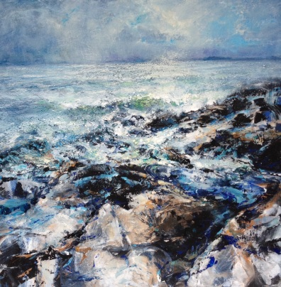 Winter Sea, 50 x 50 cm / sold