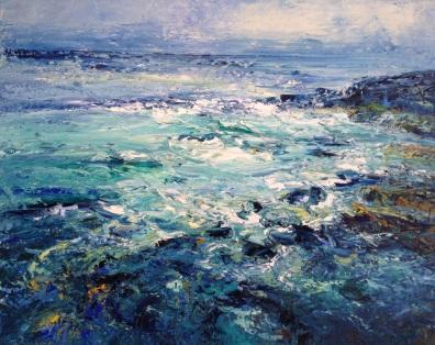 Bright Sea, 60 x 80 cm / sold