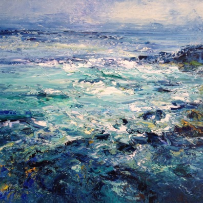 Bright Sea, 60 x 80 cm / sold