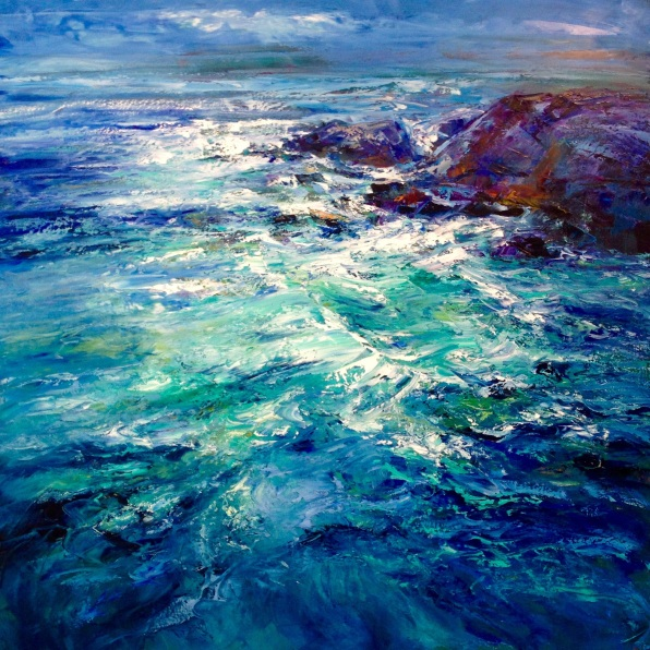 Sea Swell, 100 x 100 cm / sold