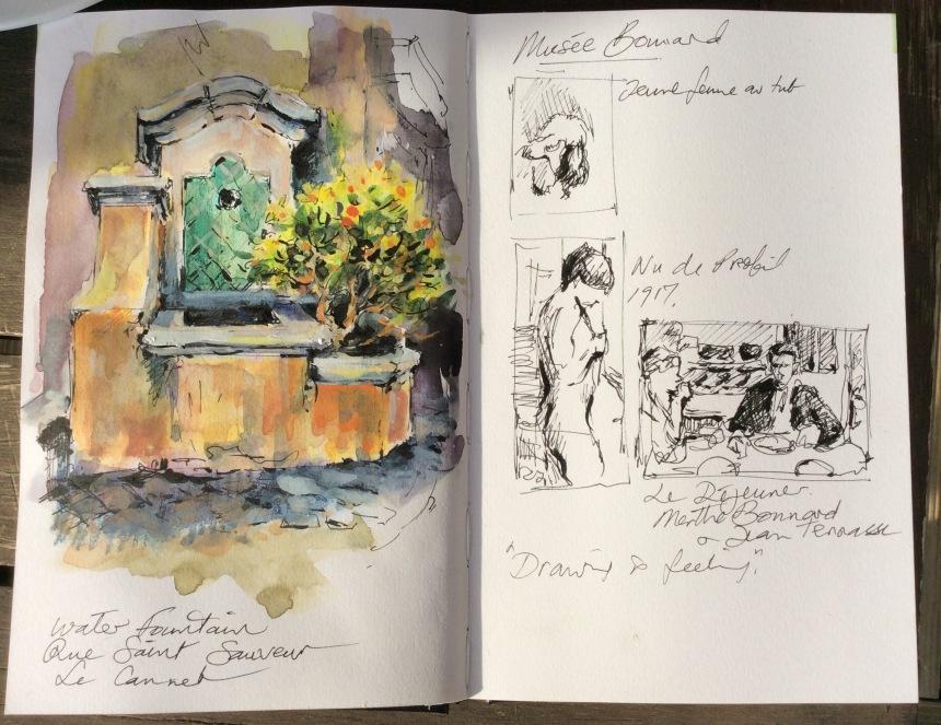 Sketchbook studies