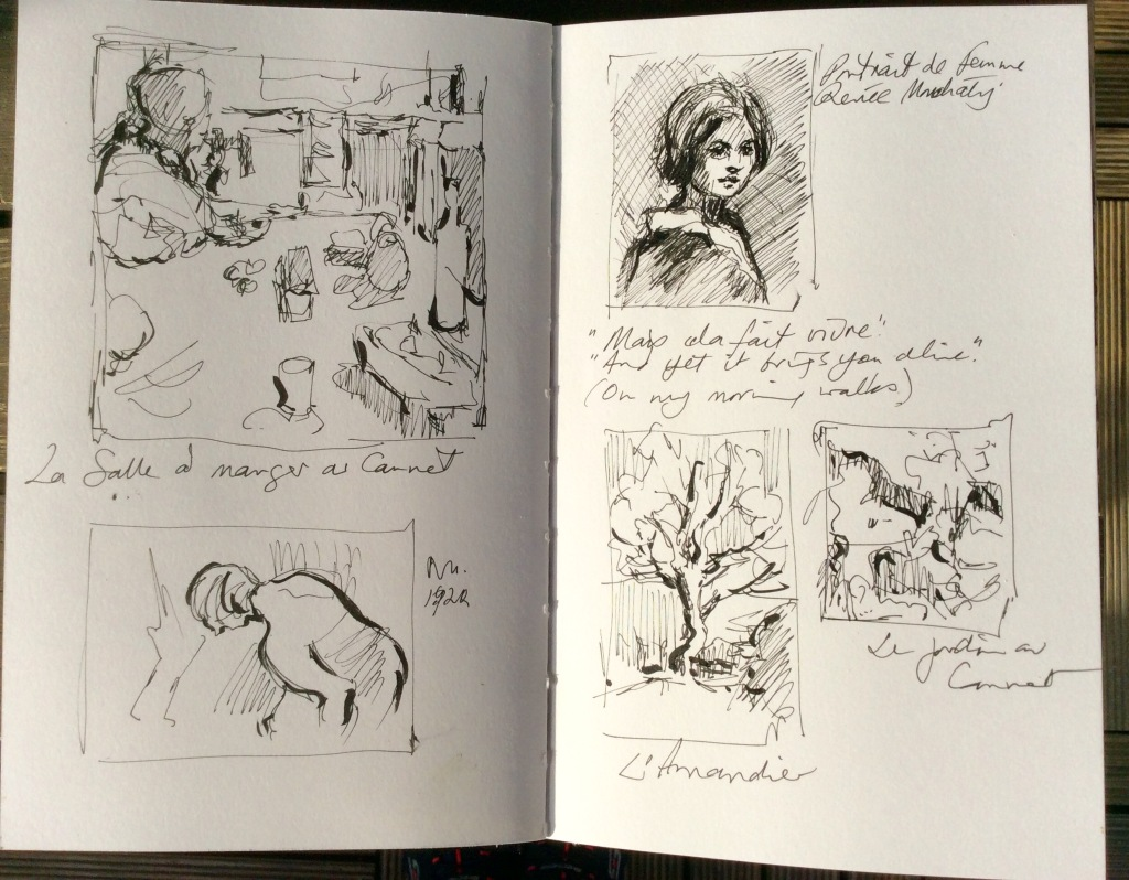 Studies from Bonnard Museum