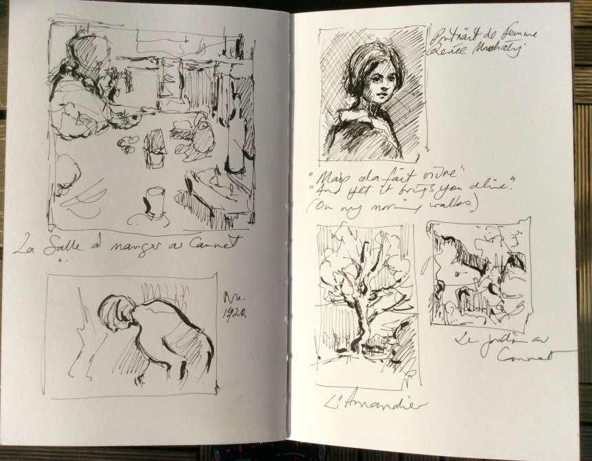 Studies from Bonnard Museum