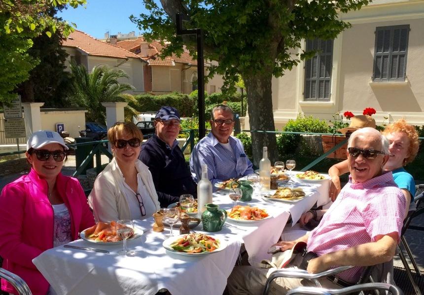 Fabulous lunch in Le Tivoli, Le Cannet