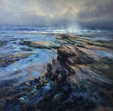 Looking West, 50 x 50 cm / sold