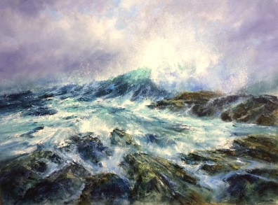 Wave, 80 x 100 cm / sold