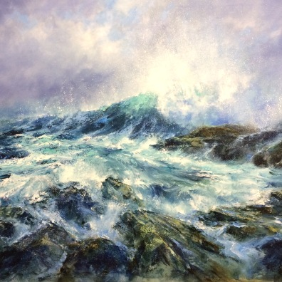Wave, 80 x 100 cm / sold