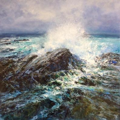 West Coast 1, 60 x 60 cm / sold