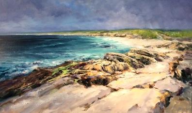 Gurteen Bay, 60 x 100 cm / sold
