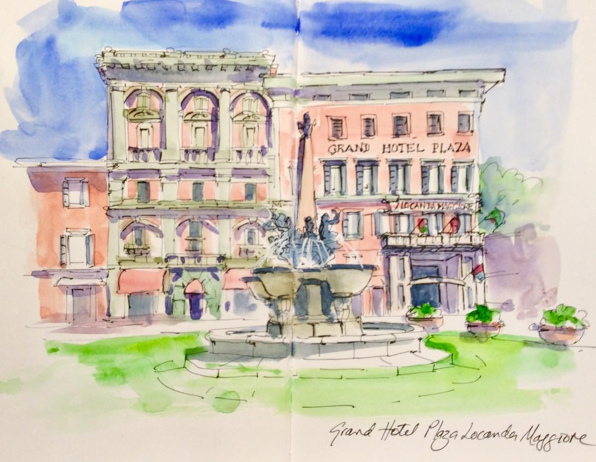 Grand Hotel Plaza, Montecatini