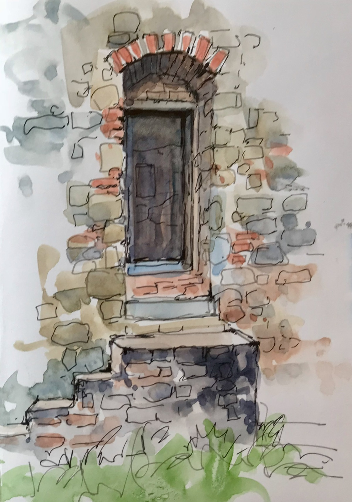 Ancient Doorway, Montecatini Alto