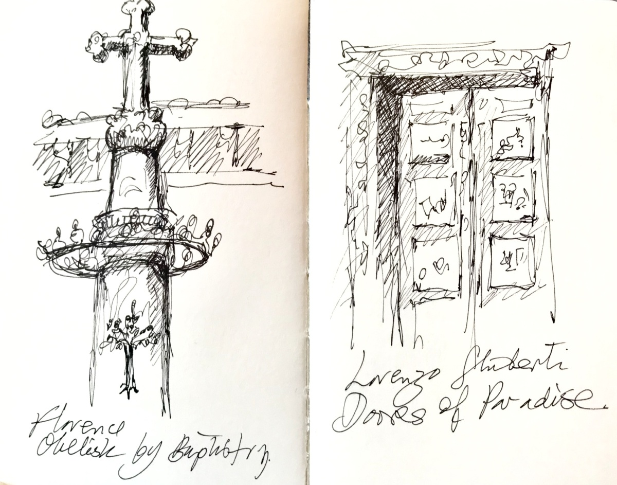 Quick Sketches, Florence Baptistry
