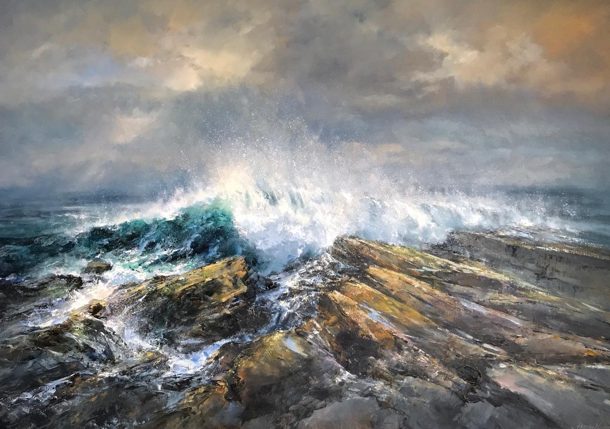 Sea and Sky 100 x 140 cm